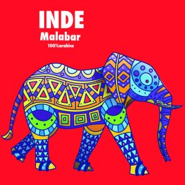 Malabar Moussonné Inde
