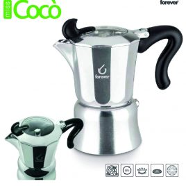 Cafetière italienne Forever Miss Coco. Différentes tailles