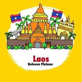 Laos Plateau des Bolovens