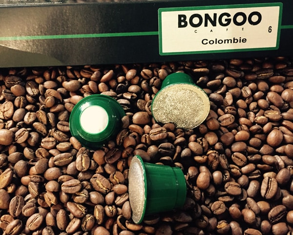 capsules Nespresso Colombie